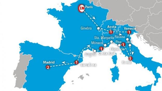 Listado orientativo de equipaje / Europa joven