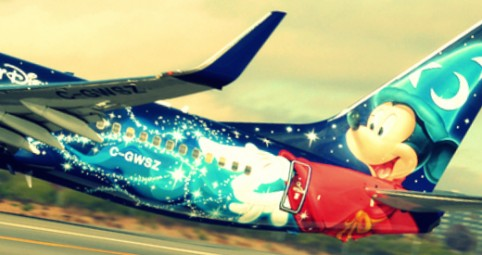 Listado de vuelos Disney Con Olano