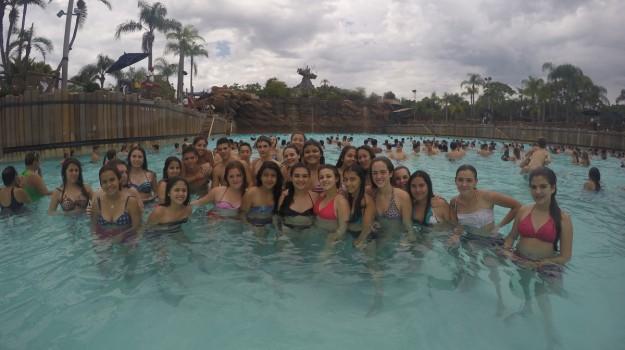 Ayer pasamos un dia genial en el parque de agua!