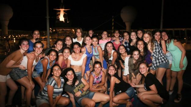Segunda noche de crucero!!!