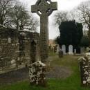 Las tumbas de la gloria,  ... o de un antiguo monasterio camino a Belfast.