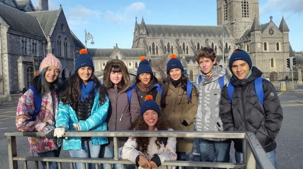 Primera parada: Dublín