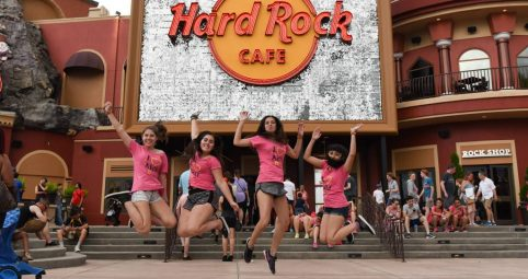 #9 Island of Adventure - Hard Rock Café