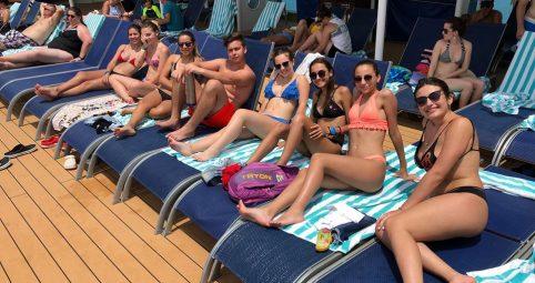 Seguimos disfrutando del crucero