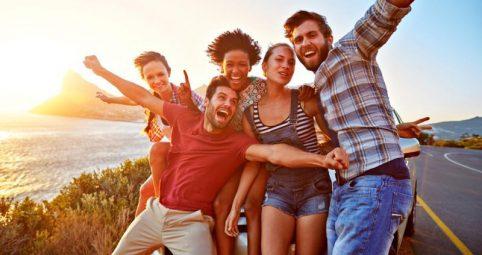 Viajes geniales para hacer con amigos