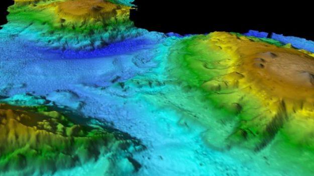 Descubren un 'Mundo Perdido' bajo el Mar de Tasmania